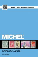 Michel Katalog 9.1 China 2017/18 catalogus catalogue Hongkong Taiwan Macau sale!