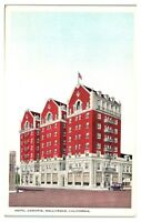 Early 1900s Hotel Christie, Hollywood, CA Postcard