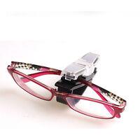 Car Sun Visor Dual Clip Pen Holder Glasses Sunglasses Eye Glasses Card Clips