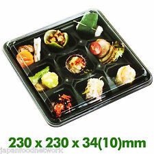 Disposable Food Containers Bento Lunch Box 9 compartment 50 SET