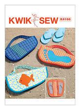 Kwik Sew K4166 PATTERN - Flip Flop Cases - BN - OSZ