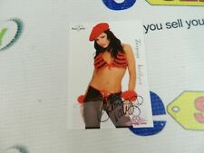 """autographed Bench Warmer Cards """"TAMMY VALLEJOS"""" From Series In 2005"""