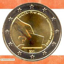 Sondermünzen Malta: 2 Euro Münze 2011 Wahl 1849 Sondermünze zwei € Gedenkmünze