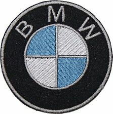 """BMW 3.5"""" Logo Sew Ironed On Badge Embroidery Applique Patch"""