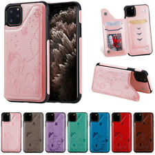 For iPhone 12 11 Pro Max Mini XR 8 7 Magnetic Pattern Leather Wallet Case Cover
