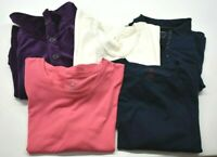 White Stag Women's XL T-Shirt, Polo Shirt, & Cardigan Tops Lot of 5