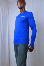 POLO Sport Blue Long Sleeve T-Shirt Performance Thermo Vent Technology ~NWT~