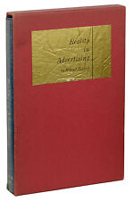 Reality in Advertising ~ ROSSER REEVES ~ First Trade Edition 1st 1961 MAD MEN
