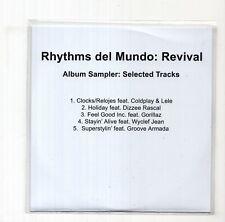 (JC126) Rhythms Del Mundo, Revival - 5 track album sampler - 2010 DJ CD