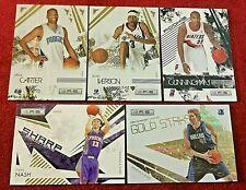2009-2010 Panini Rookies & Stars Holofoil Patch Iverson /50 Nowitzki Gold Duncan