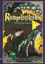 Rumpelstiltskin: La Novela Grafica (Graphic Spin en Español) (Spanish Edition)