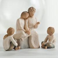 Willow Tree Grandmother with 3 Grandchildren Figurines NEW