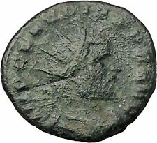 Claudius II  268AD Authentic Ancient Roman Coin Good luck Cult Commerce i57681
