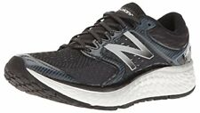 New Balance Men's Fresh Foam Running Shoe, Black/White, 9 D US, 1080V7