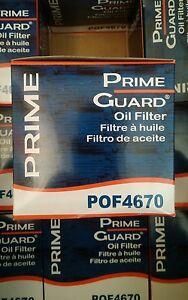 (2) Prime Guard POF4670 Oil Filter Comp. PH16 PF13 PZ34 QS16 VO45 L14670