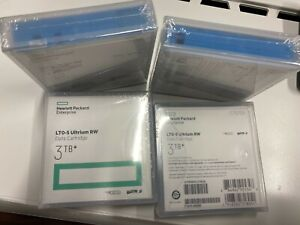 HP C7975A LTO-5 ULTRIUM 3TB BACKUP TAPE (Lot of 4 tapes)  ORIGINAL HP SEALED NEW
