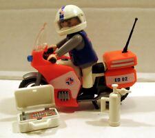 PLAYMOBIL - Secouriste à moto (réf 3924)