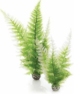 OASE BIORB EASY PLANT SET WINTER FERN MEDIUM WEIGHTED PLASTIC AQUARIUM BIO ORB