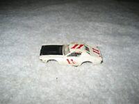 VINTAGE AURORA AFX 1773 WHITE DODGE CHARGER STOCKER #11 HO SLOT CAR BODY ONLY