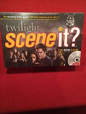 Twilight Scene It The DVD Board Game Mattel 2009 NEW Sealed Trivia