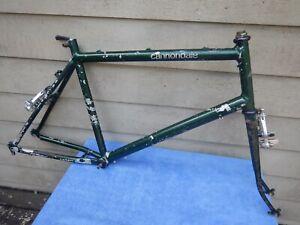 "19"" Vintage Cannondale SM500 Mountain Bike Frameset Suntour XC Roller Cam Brakes"