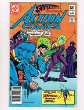 Action Comics #532 (1982) H.I.V.E. Appearance.Atom Back-Up Story