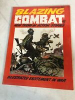 Blazing Combat #2 (1965) Frazetta Cover -A Warren Magazine ,Jan No.2