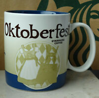 Starbucks City Mug Tasse Becher Cup Oktoberfest Deutschland Version 3 16oz NEU
