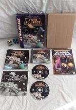 Star Wars: X-Wing Alliance Caja Grande PC juego completo en muy buena condición