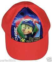 Boys Girls Kids Paw Patrol Characters Summer Sun Baseball Cap Hat age 1- 9 Years
