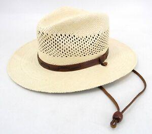 Stetson Vented Panama Straw Hat Men's XL