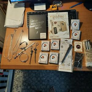CLEARANCE, Harry Potter, Jewelry, Decals, Note book, Pins Keyrings,& More