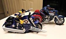 Marvel Captain America & Wolverine On X Cruiser Motorcycles Lot