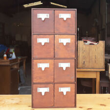 Reproduction Wooden Index Drawers Suitable for CD or Other Storage