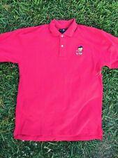 Warner Bros Studio Tweety Bird Pink Polo Golf Short Sleeve Shirt Size Large 1995