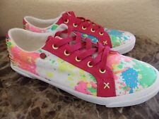 UGG~GIRLS PAINT SPLATTER SNEAKERS size 5~NEW