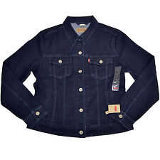 Levis Womens Jean Jacket Long Sleeve Button Up Outerwear S M New Nwt Original