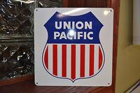 UNION PACIFIC Railroad SIGN Train Railway Conrail Locomotive Ad Logo Free Ship