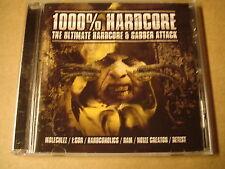 CD / 1000% HARDCORE - THE ULTIMATE HARDCORE & GABBER ATTACK