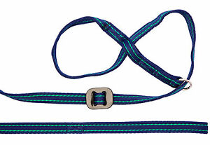 Gencon All in One, Dog Headcollar and Lead all in one-NAVY BLUE/JADE