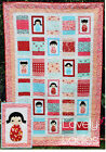 Lovely Ladies - sweet applique and pieced quilt PATTERN