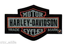 LARGE HARLEY DAVIDSON NOSTALGIC LONG BAR SHIELD VEST PATCH MOTORCYCLE BIKER