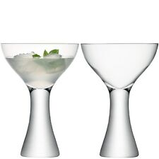 LSA Elina Cocktail Glass - Clear - Pair