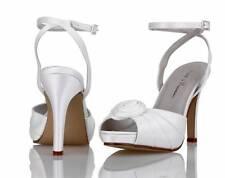Ivory satin bridal bridesmaid wedding shoes 3,4,5,6,7,8 by pure & precious COCO