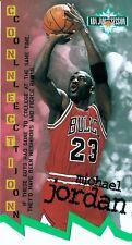 95-96 Fleer NBA Jam Session Connection Michael Jordan Die-Cut #D13