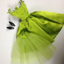 Dressmaker Details Chartreuse Green Tea Dress Silkstone/FR/Poppy Parker/Barbie