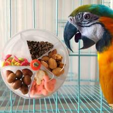 Parrot Foraging Toys Bird Bite Toy Wheel Birds Puzzle Feeding Food Rotatable Box