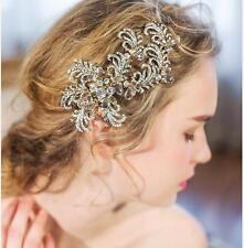 Sparkle Rhinestone Wedding Hair Clip Bridesmaid Crystal Vine Bridal Headpieces