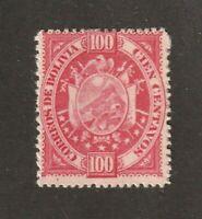 Bolivia stamp #46, MH, VF, 1894, A9, SCV $40