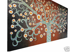 Secret Tree Art Australian Aboriginal  Oil Painting Authentic COA by jane Aussie